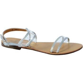 Chaussures Femme Sandales et Nu-pieds The Divine Factory Sandale Argent