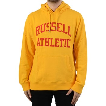 Vêtements Homme Sweats Russell Athletic à Capuche Iconic Tackle Twill Hoody Gold Fusion