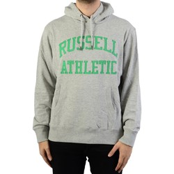 Vêtements Homme Sweats Russell Athletic à Capuche Iconic Tackle Twill Hoody New Grey Marl