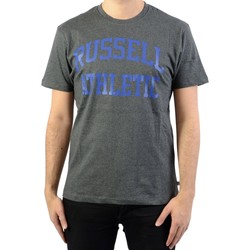 Vêtements Homme T-shirts manches courtes Russell Athletic Iconic S/S Tee Winter Charcoal Marl