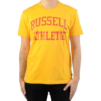 Vêtements Homme T-shirts manches courtes Russell Athletic Iconic S/S Tee Gold Fusion