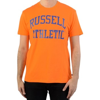 Vêtements Homme T-shirts manches courtes Russell Athletic Iconic S/S Tee Vibtant Orange