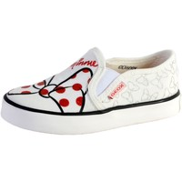 Chaussures Femme Baskets mode Geox Basket  Fille Kilwi Print Text White/Red