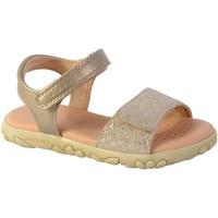 Chaussures Femme Sandales et Nu-pieds Geox Sandales /Fille J S. Haiti G. A - PR.GO.SU+PE.SY Platinum