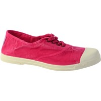 Chaussures Femme Baskets basses Natural World Tennis Ingles Elastico Enzimatico 102E Fucsia
