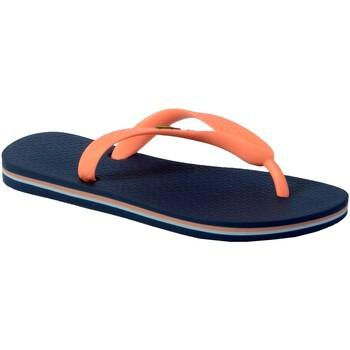 Chaussures Fille Tongs Ipanema Junior Class Brasil 2 Blue Pink