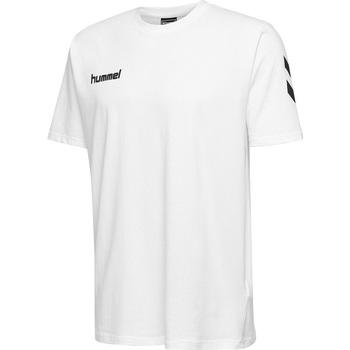 Vêtements Enfant T-shirts & Polos Hummel T-shirt junior  hmlgo cotton blanc