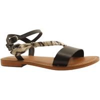 Chaussures Femme Sandales et Nu-pieds L'atelier Tropezien SH313 NOIR