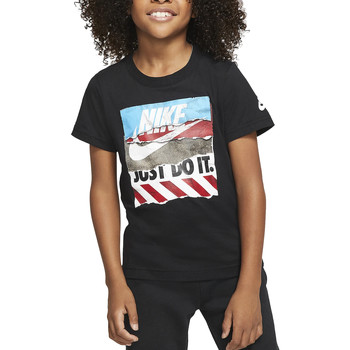 Vêtements Garçon T-shirts manches courtes Nike - T-shirt nero 86G131-023 NERO