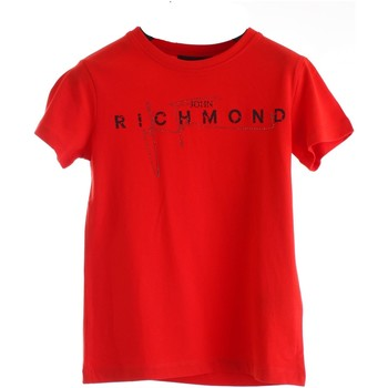 Vêtements Fille T-shirts manches courtes Richmond Kids RGP20198TS Rouge