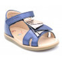 Chaussures Fille Sandales et Nu-pieds Shoo Pom tity falls bleu