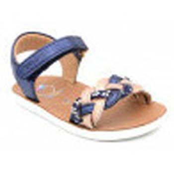 Chaussures Fille Sandales et Nu-pieds Shoo Pom goa wowo bleu