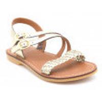 Chaussures Fille Sandales et Nu-pieds Shoo Pom lazar megh Doré