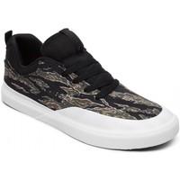 Chaussures Homme Chaussures de Skate DC Shoes INFINITE TX SE camo black Blanc