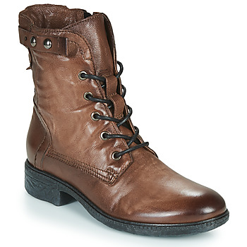 Chaussures Femme Boots Dream in Green NELATINE Marron