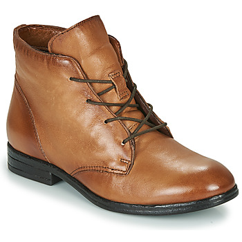 Chaussures Femme Boots Dream in Green NERGLISSE Camel