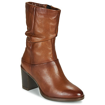 Chaussures Femme Bottes ville Dream in Green NORGE Camel