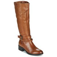 Chaussures Femme Bottes ville Vous avez oublié votre mot de passe ? Cliquez ici NOURON Camel