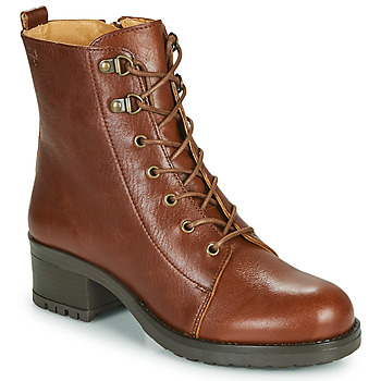 Chaussures Femme Bottines Dream in Green NAFFY Camel
