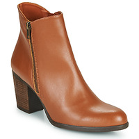 Chaussures Femme Bottines Dream in Green NACHOU Camel