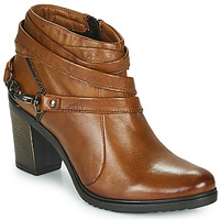 Chaussures Femme Bottines Dream in Green NEGUS Camel