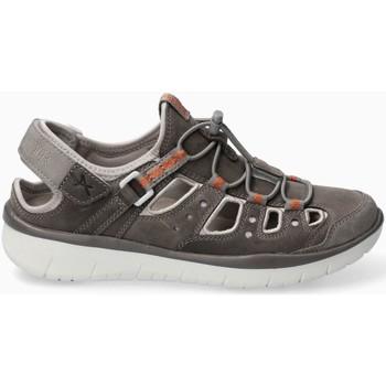 Chaussures Femme Sandales sport Mephisto Basket nubuck LUCERA Gris