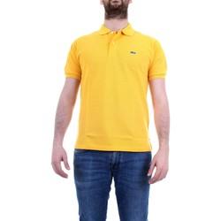 Vêtements Homme Polos manches courtes Lacoste L1264 Jaune intense