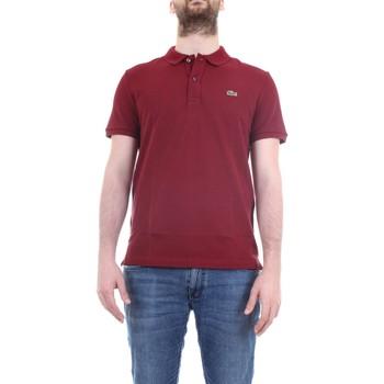 Vêtements Homme Polos manches courtes Lacoste PH4012 Bordeaux
