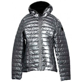 Vêtements Femme Doudounes JOTT Doudoune  CARLA BASIC ML CAPUCHE - 9953CAR-505 Argent