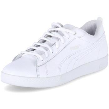Chaussures Femme Baskets basses Puma Low Smash Wns Blanc