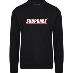 Vêtements Homme Sweats Subprime Sweater Stripe Black Noir