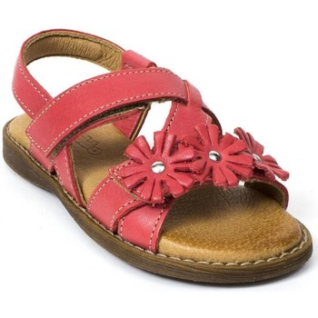 Chaussures Fille Sandales et Nu-pieds Froddo Sandales et nu-pieds cuir rouge