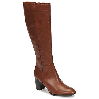Chaussures Femme Bottes ville Fericelli NAVAROIS Camel