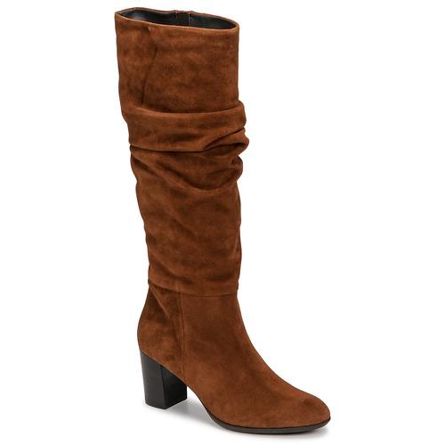 Chaussures Femme Bottes ville Fericelli NEIGNET Camel