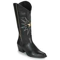 Chaussures Femme Bottes ville Fericelli NISCOME Noir / doré