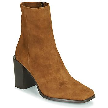 Chaussures Femme Bottines Fericelli NRETZEL Camel