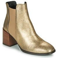Chaussures Femme Bottines Fericelli NIOCHE Doré