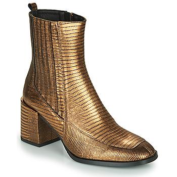 Chaussures Femme Bottines Fericelli NAKE Doré