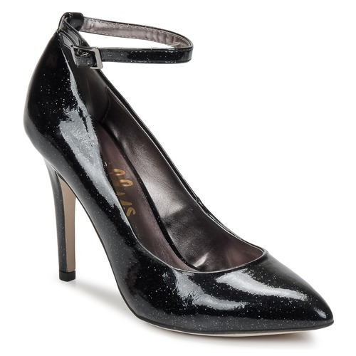 Chaussures Femme Escarpins Shellys London STAR Noir glitter