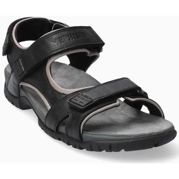 Chaussures Homme Sandales et Nu-pieds Mephisto BRICE cuir BRICE Noir