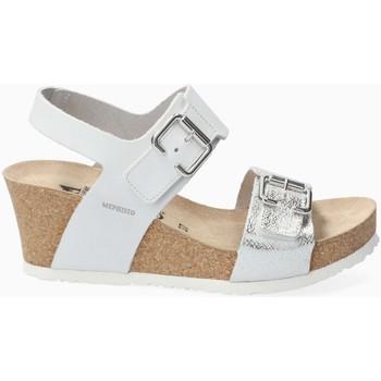 Chaussures Femme Sandales et Nu-pieds Mephisto Sandale cuir LISSANDRA Blanc