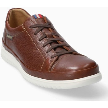 Chaussures Homme Baskets basses Mephisto Basket THOMAS Blanc Marron