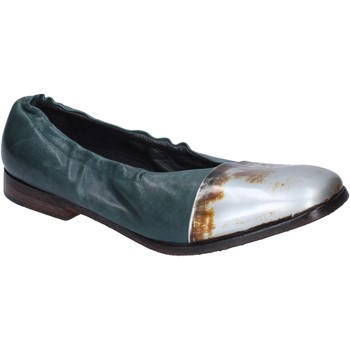 Chaussures Femme Ballerines / babies Moma ballerines cuir vert
