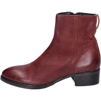 Chaussures Femme Bottines Moma bottines cuir bordeaux