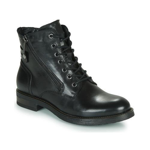 Chaussures Femme Boots Casual Attitude NUNAISE Noir