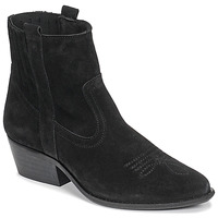 Chaussures Femme Bottines Casual Attitude NAUTERELLE Noir