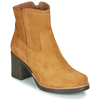 Chaussures Femme Bottines Casual Attitude NIGALE Camel