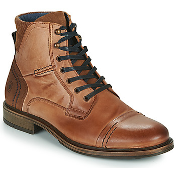 Chaussures Homme Boots Casual Attitude HOKES Marron