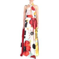 Vêtements Femme Robes longues Soani 702029S Dress Femme Multicolore Multicolore