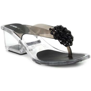Chaussures Femme Tongs Emma Shoes Paris Noir